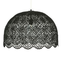 Goa Hanging Lamp XXL Black now featured on Fab.