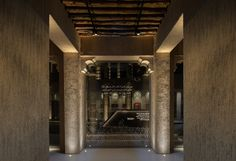 "Al Shindagha Museum - Perfume House - dpa lighting consultants - ""Right Light, Right Place, Right Time"" ™ Column Lights, Lighting Control System, Lighting Concepts, Perfume Making, Light Architecture, Stone Work, Dubai, Contemporary"