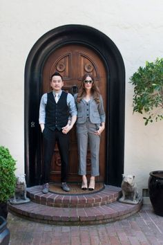 A cool LA couple shows off their home. Photos by Molly Cranna.