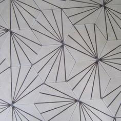 Dandelion-bone/hazelnut - cement tile | Marrakech Design