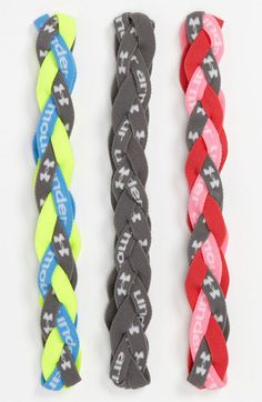Under Armour Braided Headband (3-Pack) | Nordstrom... | Wicker Furniture  www.wickerparadise.com