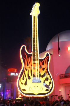 The neon Guitar