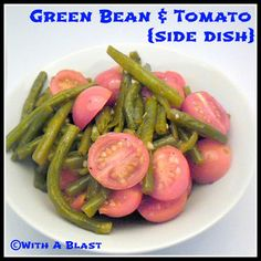 Green Beans & Tomato {side dish}