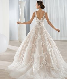 Demetrios Wedding Gowns style 640, 2016 Collection, Bridal Dresses