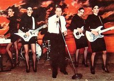 Robert Palmer had the best backup band... even if they were just faking it.