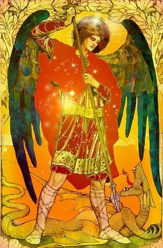 Raphael    Archangel of the East or Air.  Archangels    The four Archangels are called on in many traditions for protection and guidance and healing. Christians, Muslims, ceremonial magicians all honor them. In ceremonial magic, the lesser banishing ritual calls them in for protection. It is one of the best space clearings you can use.