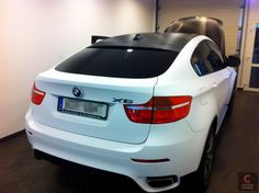 BMW X6 - white matt woooooo i love it
