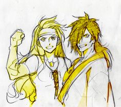 Zelos & Rokurou (Tales of Symphonia/Berseria)