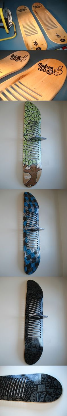 Wundervoll DefineArt CD Racks (skateboards) By Glenn Smith, Via Behance