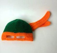 Ravelry: TMNT Ninja Turtles Hat pattern by Celina Lane