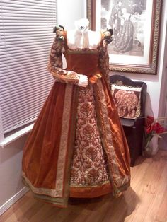 partlet | Renaissance Gown and Partlet MADE TO ORDER by DesignsbyRhenn, $680.00