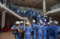 Nile University of Nigeria hosted about seventy students from St. Louis Secondary School Bompai Kano. They toured the university facilities among which are the labs, classes, halls and the library
