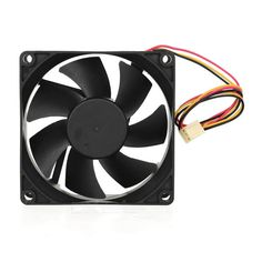 Akasa Super Quiet 1800RPM Fan for Computer Case - Black. Improve the airflow in your case with an Ultra quiet 80mm fan, with 3-pin connector; Suitable for computer case; Fan size: 80 x 80 x 25mm; Wind pressure: 1.56mm, H20; Rated voltage: DC 12V; Bearing type: socket; Lifetime: 30,000 hours; Wind flow: 22.79 CFM (38.6m3/h). Tags: #Computers/Tablets #Networking #Hardware #Parts #Hardware #Cooling #Gears