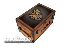 Custom Police Officer gifts featuring your Police Department Badge or Patch.