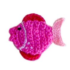 Crochet fish-Orange