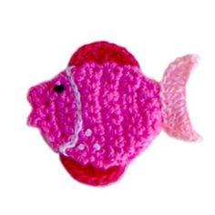 Crochet fish-Orange