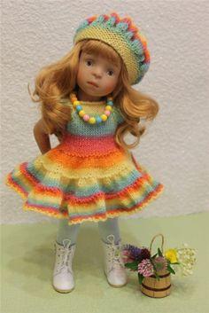 Волшебные моменты, или история о подарочке, согревшем сердце. Игровые куклы Minouche от Sylvia Natterer, Kathe Kruse. / Другие интересные игровые куклы для девочек / Бэйбики. Куклы фото. Одежда для кукол