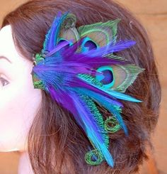 I am going to rock this at Jessica's wedding. She does love peacocks.