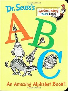 Seuss's ABC – Amazing Alphabet Book! Seuss – learning the alphabet is as easy as A, B, C when you have Dr. Seuss to guide you! Dr Seuss Abc Book, Dr Suess Books, Toys For Little Kids, Good Books, My Books, Teen Books, This Is A Book, Book Format, Children's Literature