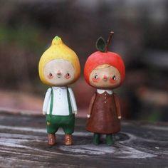 за минуту до дождя #kotyasya_детки_матушки_земли #woodentoys #деревянныеигрушки нашли дом/sold