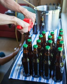 How to Bottle Beer at Home