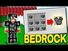 YouTube Minecraft Crafting Recipes, Minecraft Tips, Minecraft Creations, Minecraft Stuff, Minecraft Room Decor, Modern Minecraft Houses, Magic Card Tricks, Lego Hogwarts, Minecraft Redstone