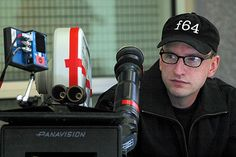 Steven Soderbergh, who by multiple accounts, edits on camera!