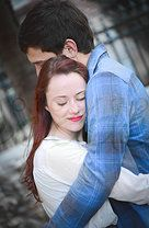 Love this sweet pose!!!!   Decadent Photography// Joy and Corbin Engagement Photo Shoot