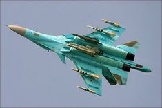 The (also called} fighter bomber has been developed by the Sukhoi Bureau Joint Stock Company in Moscow Novosibirsk Airc. Best Fighter Jet, Su 34 Fullback, Russian Fighter Jets, Russian Bombers, Russian Military Aircraft, The Art Of Flight, 2k Wallpaper, Sukhoi, Russian Plane
