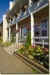 Parkland Village Inn in Alma, New Brunswick Village Inn, New Brunswick, Whale Watching, Romantic Getaway, Outdoor Activities, Beautiful Homes, Pergola, Canada, Outdoor Structures
