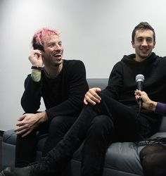 Tyler Joseph and Josh Dun