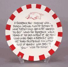 Razorback Fan Platter