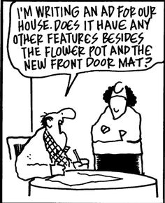 A professional REALTOR will help you figure out which features to highlight to bring the most money to your home sale #RealEstate #RoseandWomble #RealEstateHumor