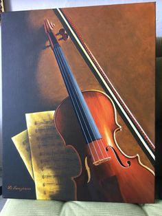 Violin by HndmdGreece on Etsy