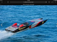 Image may contain: ocean, water, outdoor and nature Fast Boats, Speed Boats, Power Boats, Powerboat Racing, Boat Pics, Poker Run, Offshore Boats, Boat Stuff, Yacht Boat
