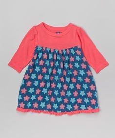Look what I found on #zulily! Twilight Starfruit Swing Dress - Infant, Toddler & Girls #zulilyfinds