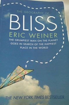 Decided I read so many travel books that I might as well start writing about them! Check out my first #bookreview - The Georgraphy of Bliss by Eric Weiner! #travelbooks #travelliterature