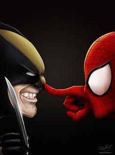 Wolverine | Spider-Man