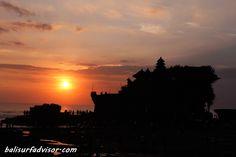Tanah Lot sunset Bali  http://www.balisurfadvisor.com/placesinterest/tanahlottemple.html