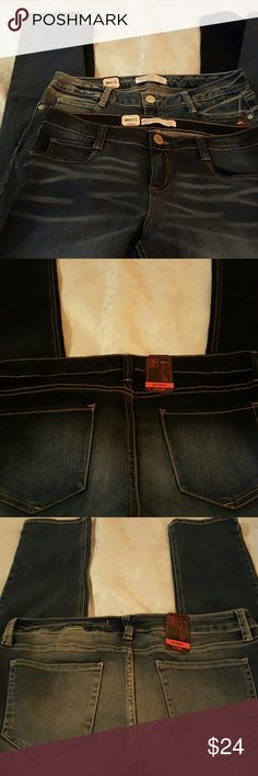 "'Firm Price' Bundle 2 pair NOBO Jeans These stretch. 29 1/2"" inseam. No Boundaries Jeans Skinny"