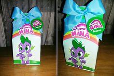 Cajitas de dulces de My little Pony para cumpleaños. Diseño personalizado realizado para las niños. Candy Box. Cliente: AEIdeign by Carmen Ortega. https://www.instagram.com/aeidesign/