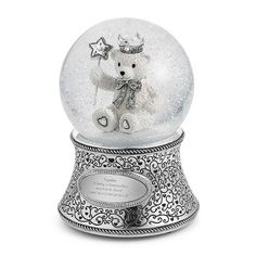 Teddy Bear Water Globe at Things Remembered