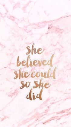 She believed she could, so she did, summer iphone wallpaper, pink marble background amazingly cute backgrounds to grace your screen Iphone Wallpaper Pink, Pink Marble Wallpaper, Her Wallpaper, Cute Wallpaper For Phone, Trendy Wallpaper, Marble Wallpapers, Pink Wallpaper Backgrounds, Cute Pink Wallpaper Quotes, Iphone Wallpapers Girly