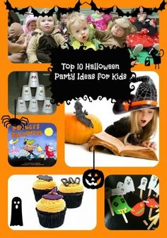 top 10 halloween party ideas for kids.  Shop for all of your halloween needs with the SmartShopper Grocery List.  www.smartshopperusa.com