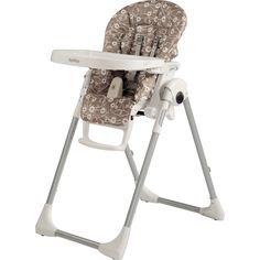 Peg perego Chaise haute bébé prima pappa zero-3 pavillon beige