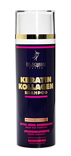 DrSchedu Berlin Keratin Collagen Dead Sea salts Shampoo 200 ml 100 silicone free 100 paraben free 100 paraffin free  100 cruelty free  Made in Germany * You can get additional details at the image link.(This is an Amazon affiliate link and I receive a commission for the sales)