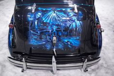Los Angeles Car Show - Gangster Squad Opens in Theaters January Cool Wallpaper, Beautiful Wallpaper, Wallpaper Desktop, Gangster Tattoos, Chicano Art, Ride Or Die, Kustom, Custom Paint, Car Show