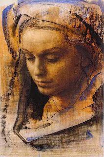 Diego Ojeda, Acevedo, Pastel Portraits, Grafiti, Madonna, Mona Lisa, Watercolor, Drawings, Antonin Artaud