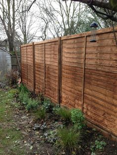 Basket Weave Fence I Like This One Leave It Open Or
