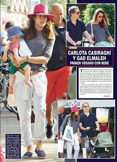 Charlotte Casiraghi - Charlotte, since the pregnancy your look has really come along. Nancy needs work!